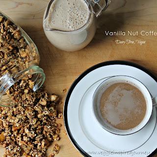 Vanilla Nut Coffee Creamer (Dairy Free, Vegan)