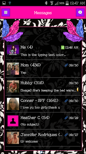GO SMS - SCS287
