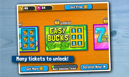 Scratch Tickets- screenshot thumbnail