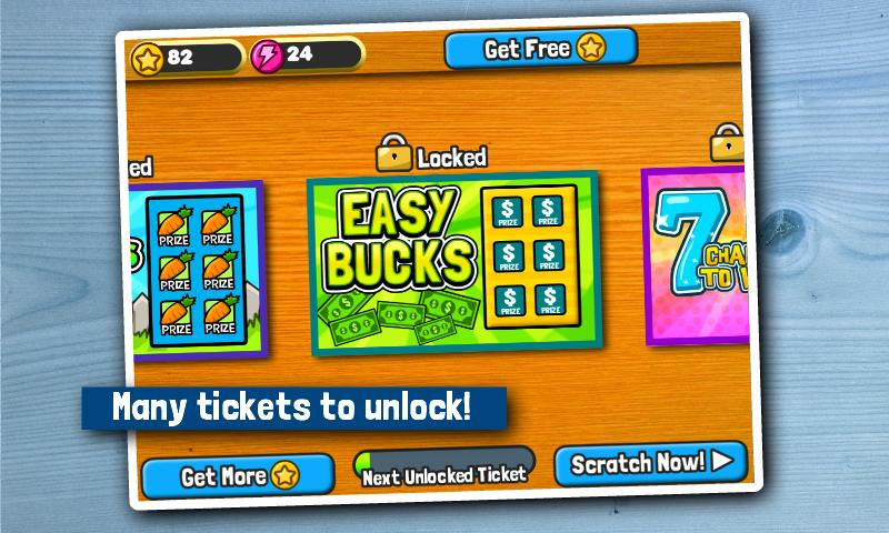 Scratch Tickets- screenshot