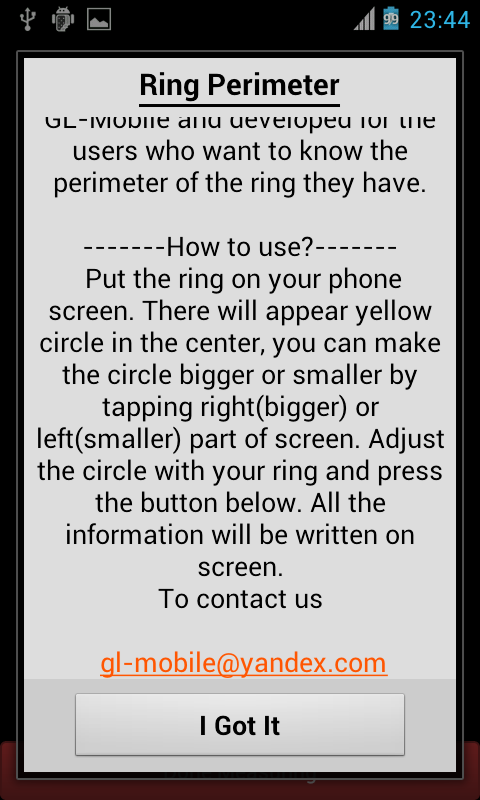 Ring Perimeter - screenshot