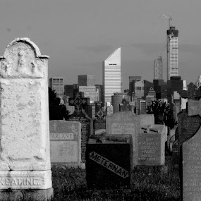 Monuments and Towers by VAM Photography - Buildings & Architecture Other Exteriors ( b&w, cemetery, nyc, places, architecture,  )
