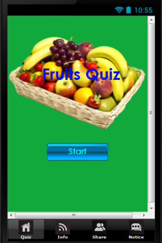 Kids Fruit Quiz for Education