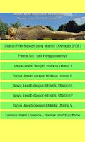 Screenshot of Dhammapada Indonesian Version