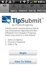 TipSubmit Mobile - screenshot thumbnail