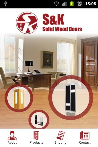 S K Solid Wood Doors