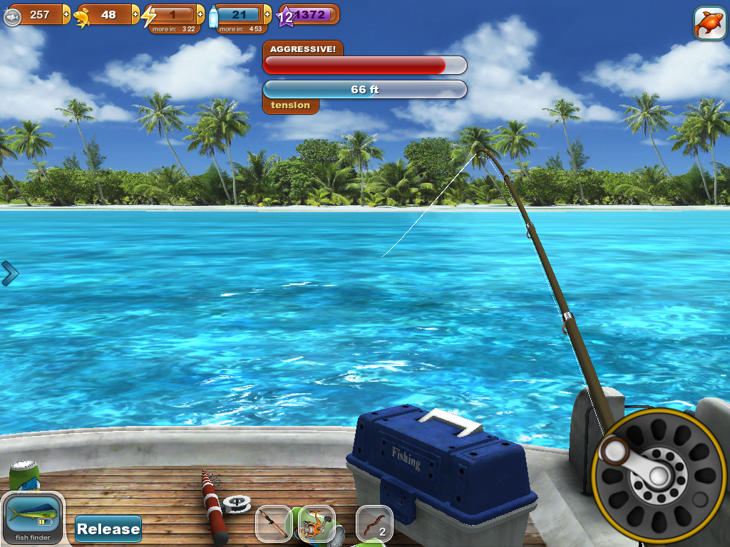 Fishing paradise 3d free android apps on google play for Fishing game android