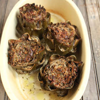 Stuffed Artichokes.