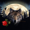 Wolf Rose Live Wallpaper