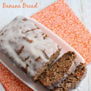 Healthy Carrot Cake Banana Bread.