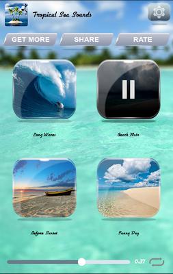 Tropical Sea Sounds - screenshot