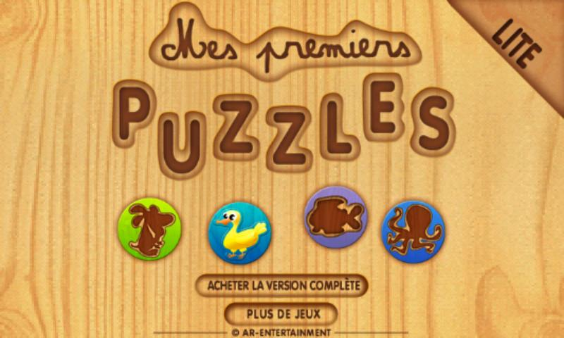 My First Kids Puzzles Lite- screenshot