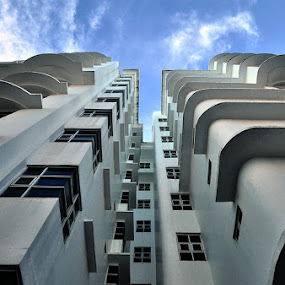 Looking Up by Doddy Surya - Buildings & Architecture Office Buildings & Hotels