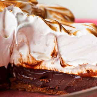 """Coffee """"S'mores"""" Pie"""