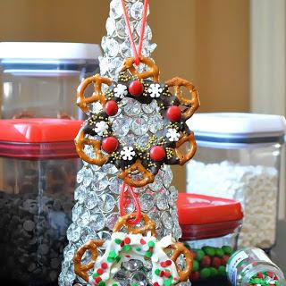 Edible Christmas Wreaths.