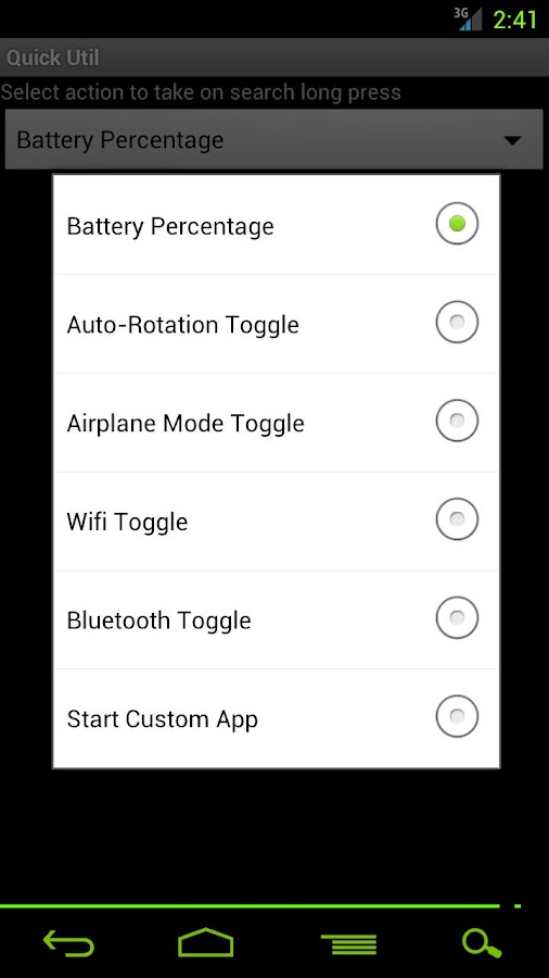 Quick Utility- screenshot