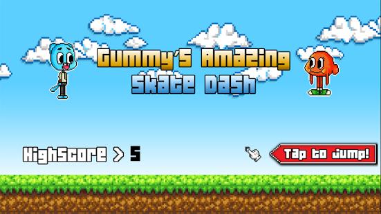 Gummy's Amazing Skate Dash