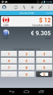 Currency Calculator Pro Screenshot