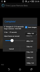 Time Lapse Remote- screenshot thumbnail