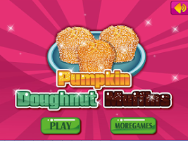 Screenshot of Cooking Pumpkin Donut Muffins