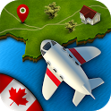 GeoFlight Canada: Geography icon