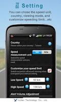 Screenshot of Speed Detector EVO