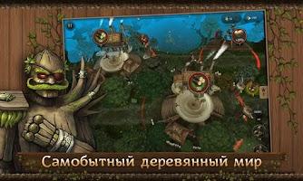 Screenshot of First Wood War - Рубилово!