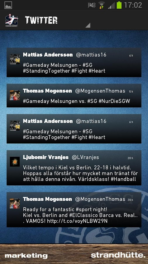 SG Flensburg-Handewitt - screenshot