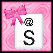 KB SKIN - Pink Glitter Bows