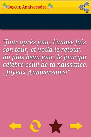 Bon Anniversaire Sms Android Apps Appagg