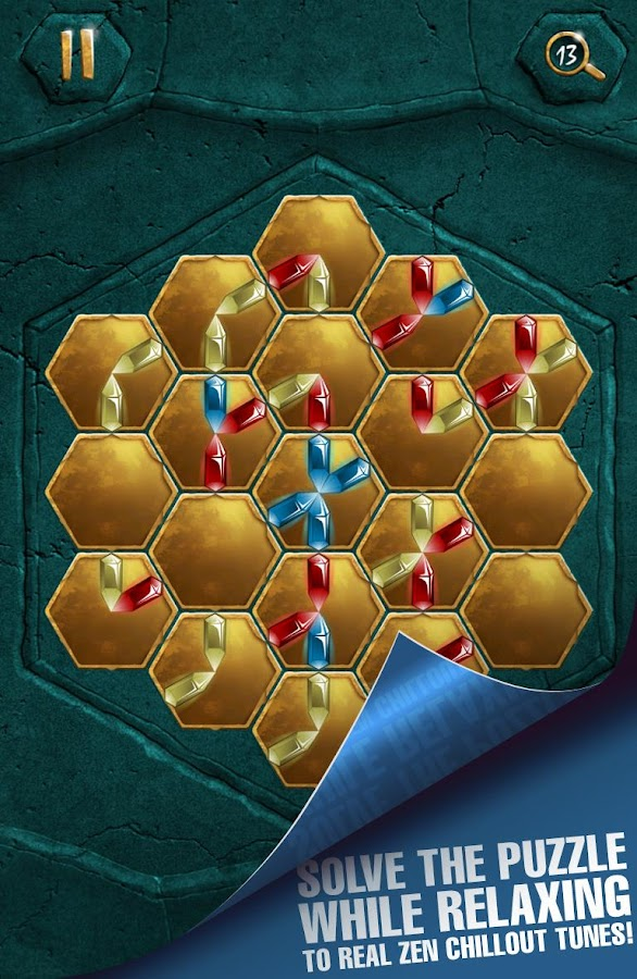 Crystalux puzzle game - screenshot