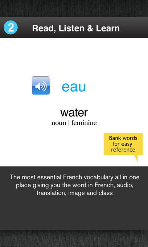 Learn French Free WordPower- screenshot