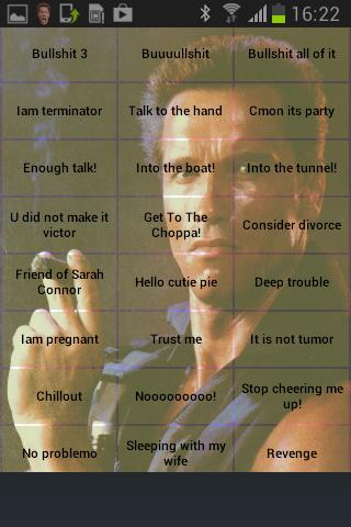 Arnold soundboard