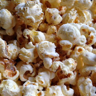 White Cheddar Cheese Chili Popcorn Recipe