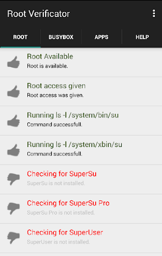 Root Verificator and Rootcheck
