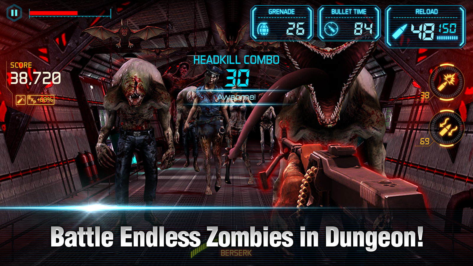 GUN ZOMBIE 2 : RELOADED - screenshot