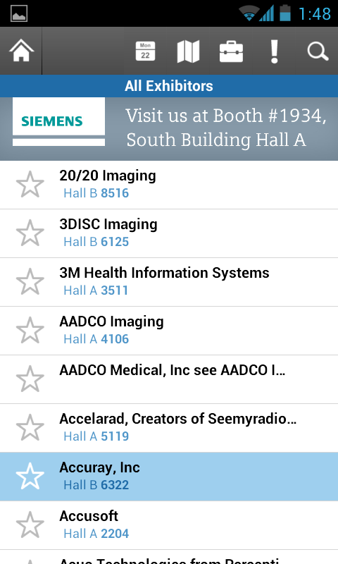 RSNA 2013 - screenshot