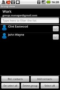 GroupManager Ad Free - screenshot thumbnail