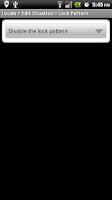 Screenshot of Locale Lock Screen Plugin