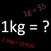 Calculator Price per Kilogram
