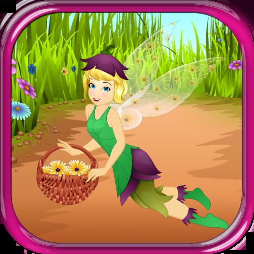 休闲の妖精の花女の子ゲーム LOGO-記事Game