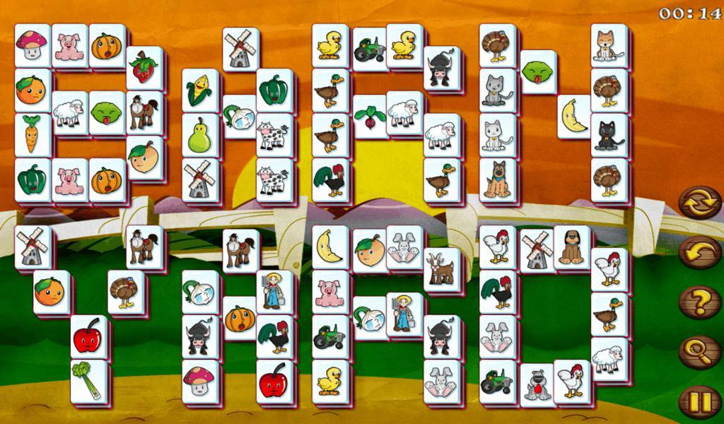 Barnyard Mahjong HD Free- screenshot