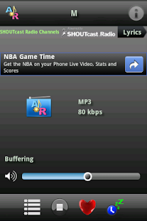 A Online Radio - screenshot thumbnail