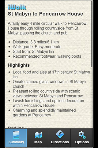 iWalk St Mabyn to Pencarrow