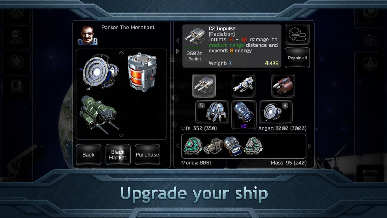 Plancon: Space Conflict screenshot #3