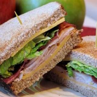 Amy's Triple Decker Turkey Bacon Sandwich.