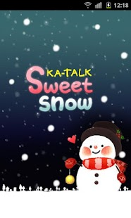 KaTalk Theme]DDOMO Sweet Snow