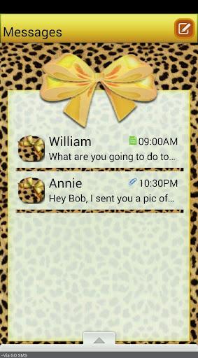 CheetahBows GO SMS THEME