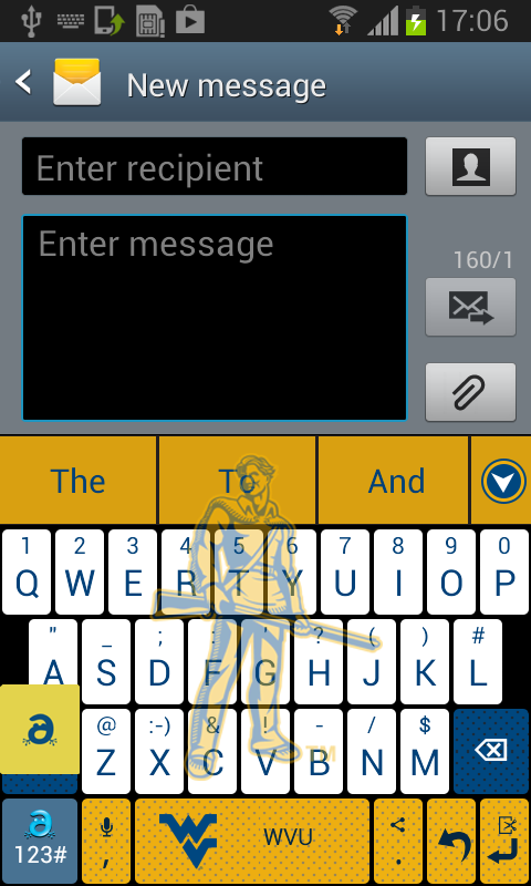 West Virginia Keyboard - screenshot