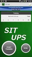 Screenshot of Sit Ups - Fitness Trainer